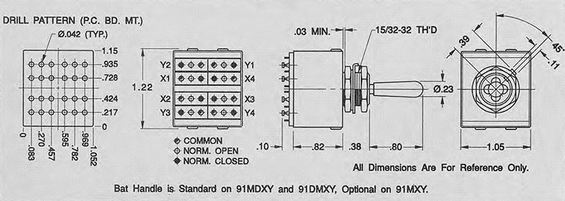 Item 91dmxy Two Axis Quot X Quot And Quot Y Quot 9 Position Single